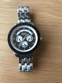 Genuine men's D&G watch