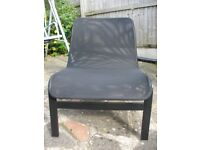 Black Mesh Large Chair from IKEA