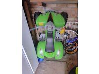 12v Raptor Quad Bike - Green (Faulty Battery)