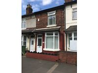 3 Bedroom House TO LET Willenhall Road Wolverhampton WV12HY Available Now