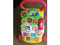 VTech First Steps Baby Walker in great condition