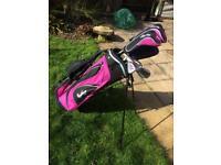 Half set of Ladies LEFT HANDED Golf Clubs