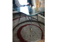 Large dinning table and chairs