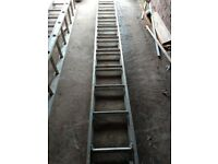 Extension 11 rung Ladders x2
