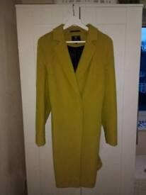 Ladies wool coat - size 14