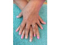 Manicure & Pedicure inc Gel/Shellac hands and feet. I am mobile and also a hairdresser.