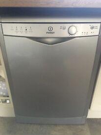 Indesit Silver Dishwasher