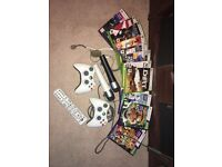 Xbox 360 Kinect with accessories & games