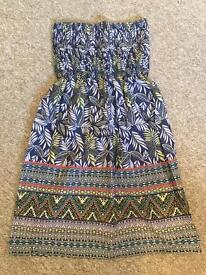 Strapless summer dress, brand new, Size 12