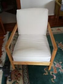 For sale, two Ikea easy chairs