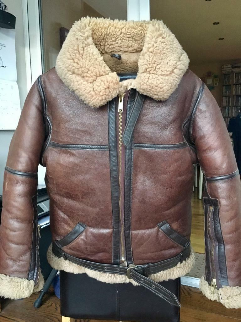 Genuine Irvin Sheepskin Flying Jacket 42