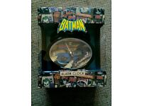 Batman Alarm Clock - New Boxed. £2