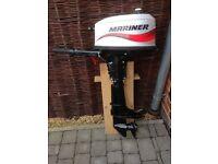 4 HP Mariner Outboard Motor 2 stroke