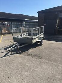 Galvanised trailer single axle 8' x 5'