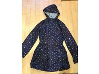 Red Herring Raincoat - Size 8