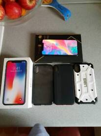 Iphone x 256gb like new