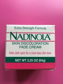 Nadinola Skin Discoloration Fade Cream Extra Strength, 2.25 OZ - UK Seller!
