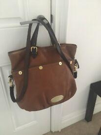 Genuine Mulberry mitzy tote handbag