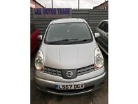 Nissan note MPV Automatic 1.6 petrol 5 doors hatchback 5 seater family car 2007 07 plate