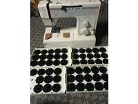 Sewing machine for parts