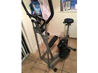 Exercise and cross trainer