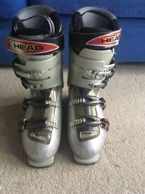 Head ski boots Edge+8.5 Silver Red MP 27.5 Used