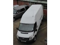 Ford Transit 2.4 TDCi 350 XLWB High Roof 2011 Van for sale VAT Inc in the sale price.
