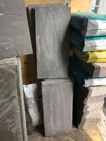 Indian sandstone paving - 6.6msq