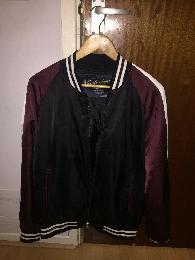 ed4c3e96 Men's Zara College Bomber Jacket - Size XL   in Aylesbury ...