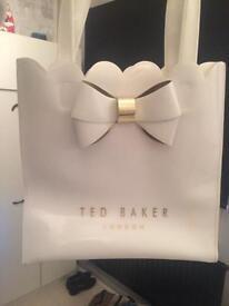 Ted Baker White Shopper bag