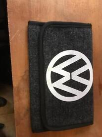 VW document pouch