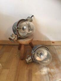 Industrial Factory Heavy Lights Shop, Kitchen, Rare Lighting, Coffee Bar Pendant