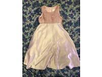 Vintage next pink silky dress