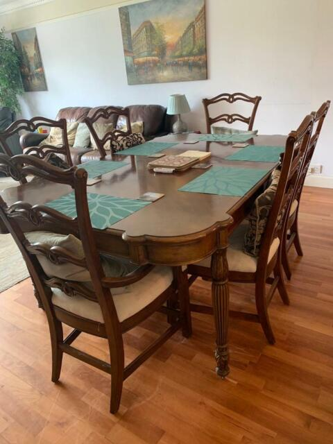 Oak Dining Room Table And 6 Chairs From North Carolina In Duddingston Edinburgh Gumtree