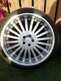 alloy wheels - 21 inch kahn diamond limited edition