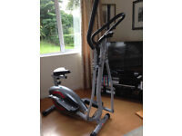 2 in 1 crosstrainer and exercise bike