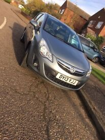 Vauxhall Corsa SE 1.2l 2013 Manual Petrol Cruise Control Half Leather Low Milage Perfect Starter Car