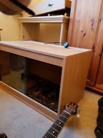 Vivarium (2foot 6 by 1foot 6inch and 1foot 6inch high)