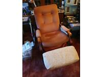 Chair very comfy could be up cycled