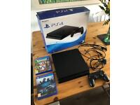 PS4 Console 500gb slim Crash Bandicoot & Need For Speed
