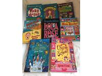 8 chapter books by Jacqueline Wilson/Anne Fine