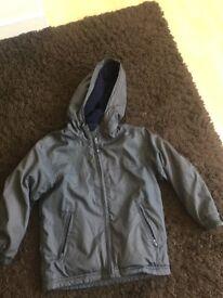 Gap dark grey jacket Age 6/7