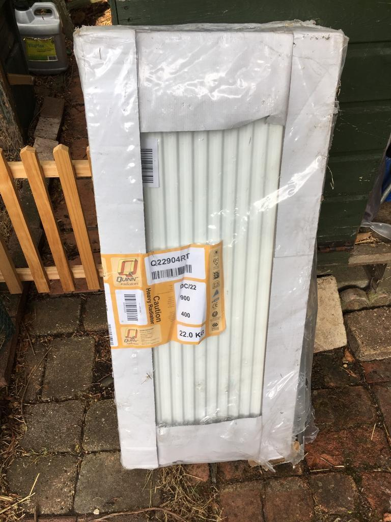 Radiator 900 X 400.New Double Radiator 900 X 400 In Leicester Leicestershire Gumtree