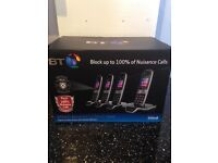 BT 8600 advance call blocker quad brand new RRP ��119.99 Argos