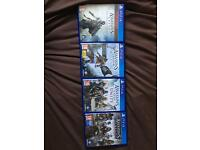 PS4 assassins creed collection