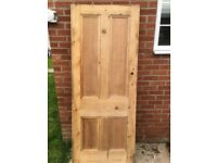 Victorian pitch pine doors for sale