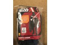 Men's darts Vader fancy dress costume
