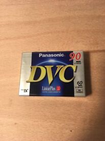 Cassette TAPE for CAMCORDERS: Panasonic 90 LP 60 SP DVC Mini DV Digital Video