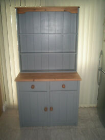 Charming Pine Dresser done in Slate Grey