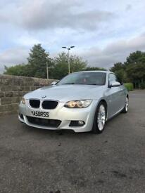 BMW 320D COUPE M SPORT AUTO RED LEATHERS